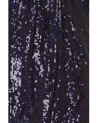 Akira Black Label - Purple Sparkle & Shine Sequin Dress In Eggplant - Lyst