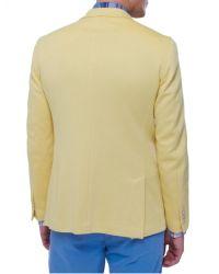Jules B - Yellow Jet Cotton Jacket for Men - Lyst