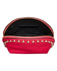 Rebecca Minkoff | Purple Dome Pouch With Studs | Lyst