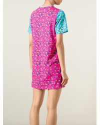 Markus Lupfer - Pink 'Bananas Alex' T-Shirt Dress - Lyst