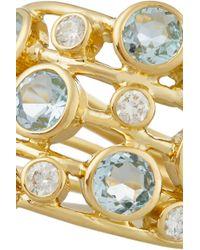 Ippolita - Metallic Rock Candy Lollipop Constellation 18-Karat Gold, Topaz And Diamond Ring - Lyst