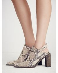 Free People | Multicolor Fp Collection Womens Silver Storm Mule | Lyst