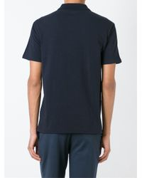 EA7 - Blue Classic Polo Shirt for Men - Lyst