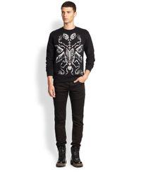 McQ - Black Handdrawn Sweatshirt for Men - Lyst