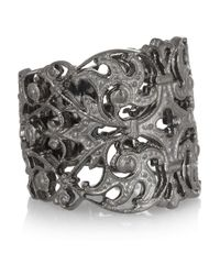 Iam By Ileana Makri | Metallic Duchess Oxidized Silver Ring | Lyst