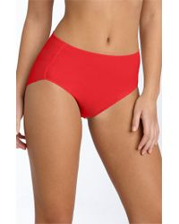 Tc Fine Intimates | Red 'wonderful Edge' High Cut Briefs | Lyst