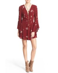 Free People | Jasmine Embroidered Dress | Lyst