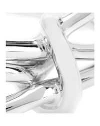 Balenciaga - Metallic Metal Cuff - Lyst