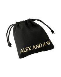 ALEX AND ANI - Metallic Endless Knot Ii Bracelet - Lyst