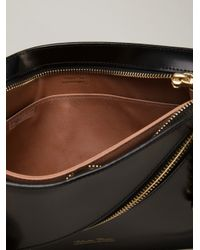 Undercover - Black Structured Clutch - Lyst