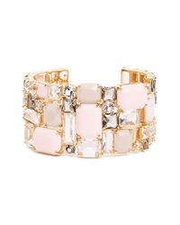 kate spade new york | Metallic 'neapolitan' Wrist Cuff - Blush Multi | Lyst