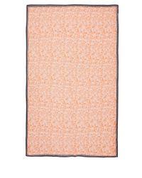 Paul Smith - Orange Palm Leaf Modal And Silk-Blend Scarf - Lyst