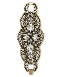 Banana Republic | Natural Deco Sparkle Bracelet | Lyst