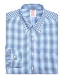 Brooks Brothers - Blue Regent Slim Fit Woven Shirt for Men - Lyst