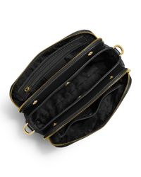 MICHAEL Michael Kors - Black Bedford Medium Double-zip Messenger Bag - Lyst