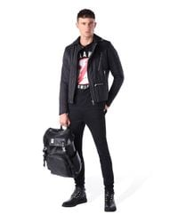 DIESEL - Black T-kalar for Men - Lyst