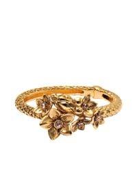 Roberto Cavalli | Metallic Serpent Bouquet Bracelet | Lyst