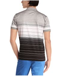 BOSS Green | Gray 'paddy 3' | Modern Fit, Mercerized Cotton Polo for Men | Lyst