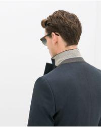 Zara | Blue Birdseye Suit Blazer for Men | Lyst