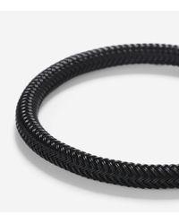 Cole Haan | Black Ip Mesh Bracelet for Men | Lyst