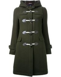 Guild Prime - Green Hooded Duffle Coat - Lyst
