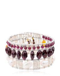 Ziio - Red Netti High Bracelet - Lyst