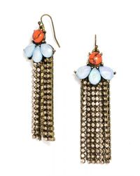 BaubleBar | Orange Sunshower Drops | Lyst