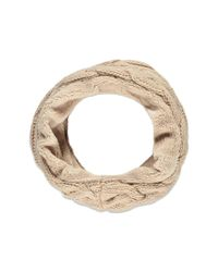 Forever 21 - Pink Plushy Cable Knit Infinity Scarf - Lyst