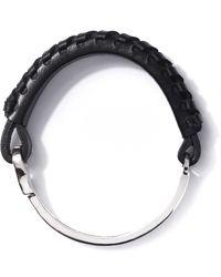 Miansai | Black Blithe Silver Bracelet for Men | Lyst