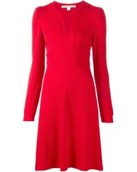 Diane von Furstenberg - Red 'leyah' Dress - Lyst