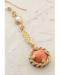 Cabinet | Orange Coral Pearl Drop Earrings | Lyst