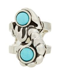 Pamela Love | Blue Alacran Ring | Lyst