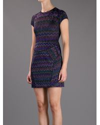 Missoni | Multicolor Fitted Dress | Lyst
