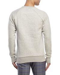 Moods Of Norway - Gray Carl Loen Graphic Sweatshirt for Men - Lyst
