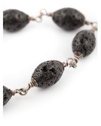 Roman Paul | Black Skull Motif Beaded Bracelet for Men | Lyst