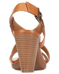 Clarks - Brown Collection Women's Jaelyn Fog Dress Sandals - Lyst