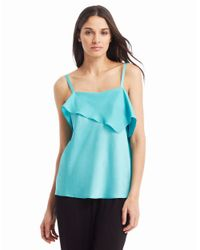 Kenneth Cole | Blue Vivianna Blouse | Lyst