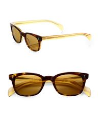 Paul Smith | Brown Printed Plastic Sunglasses for Men | Lyst