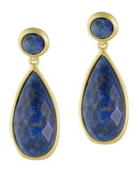Karen Kane | Blue Tranquil Water Teardrop Earrings | Lyst