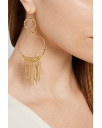Aurelie Bidermann - Metallic Marisa Gold-plated Earrings - Lyst