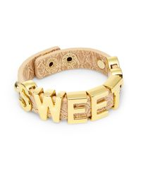 BCBGeneration | Brown 'sweet' Bracelet | Lyst