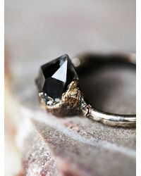 Free People - Metallic After Midnight Ring - Lyst