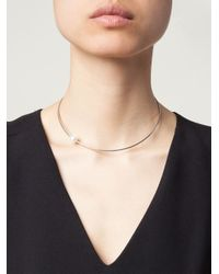 Vibe Harsløf - Gray Single Pearl Necklace - Lyst