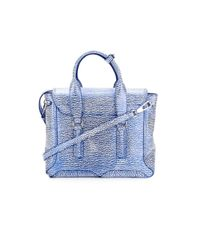 3.1 Phillip Lim - Blue Medium Pashli Satchel Bag - Lyst