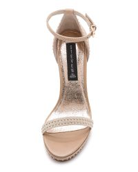 Steven by Steve Madden - White Rogger Sandals - Black Multi - Lyst