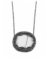 House of Harlow 1960 | Gray Tanga Coast Pendant Necklace | Lyst