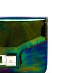 Proenza Schouler - Multicolor Oil Slick Ps11 Mini Clutch Bag - Lyst