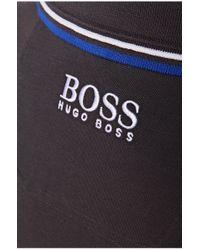 BOSS Green | Blue Regular Fit Piqué Golf Polo Shirt 'paddy Pro' for Men | Lyst