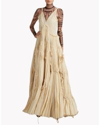 DSquared² - Natural Phoebe Couture Dress - Lyst