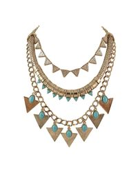 Ziba | Blue Signature Christelle Necklace | Lyst